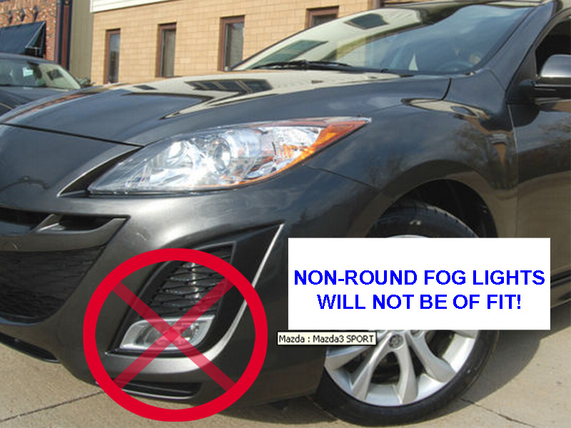fog light wiring diagram toyota 2010 mazda 3 fog light wiring diagram free ship 2010-2012 mazda 3 smoke round fog lights fog ...
